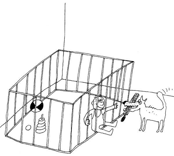 Карикатура: Собака, Вячеслав ШИЛОВ