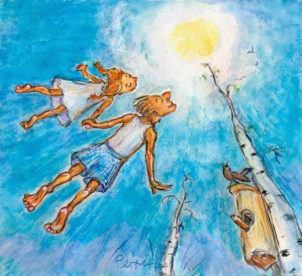 Карикатура: Весна., Perpeta