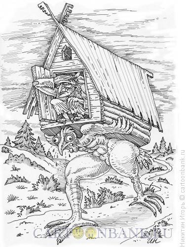 Карикатура: Бройлер, Никитин Игорь