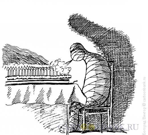 Карикатура: Именинник, Богорад Виктор