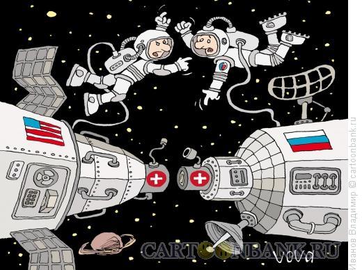 Карикатура: Космический облом, Иванов Владимир
