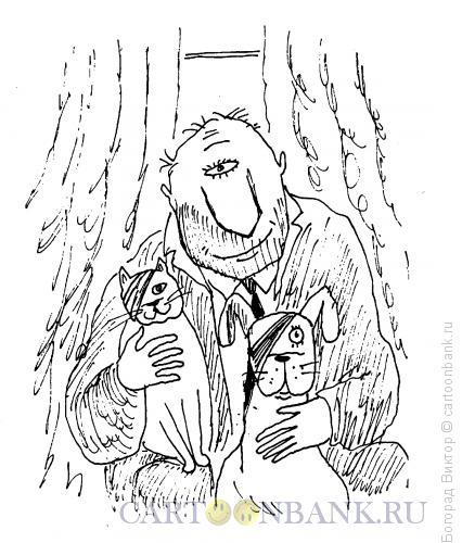 Карикатура: Одноглазники, Богорад Виктор