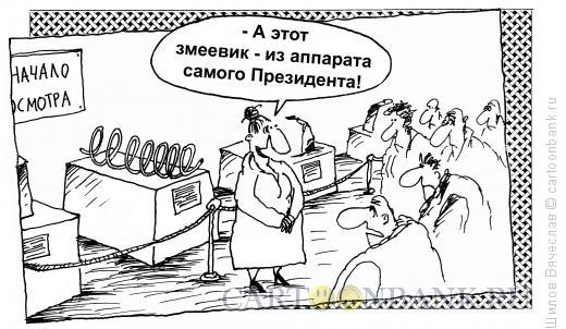 Карикатура: Змеевик, Шилов Вячеслав