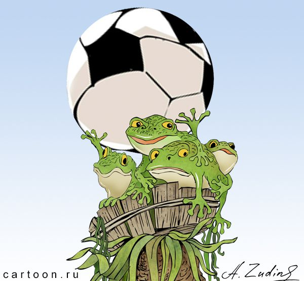 Карикатура: EURO-2016, Александр Зудин
