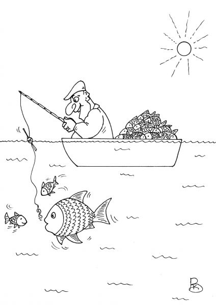 Карикатура: Азарт, Валерий Каненков