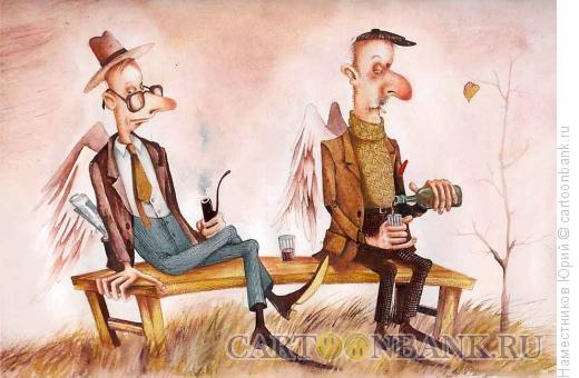 Карикатура: Энджелдринк, Наместников Юрий