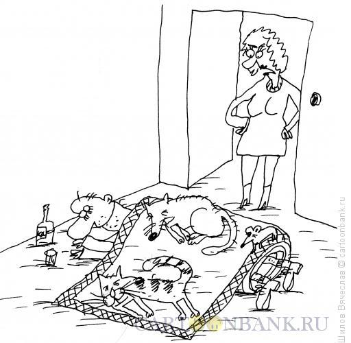 Карикатура: Добрая душа, Шилов Вячеслав
