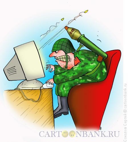 Карикатура: война, Соколов Сергей