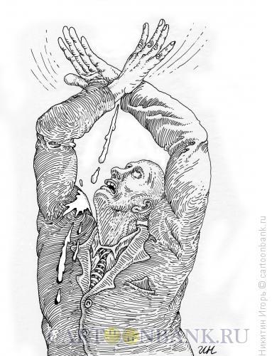 Карикатура: Птичка, Никитин Игорь