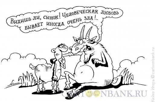 Карикатура: Злая любовь, Кийко Игорь