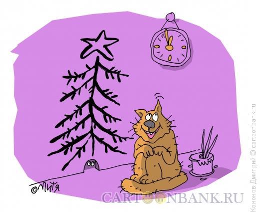 Карикатура: подарок, Кононов Дмитрий