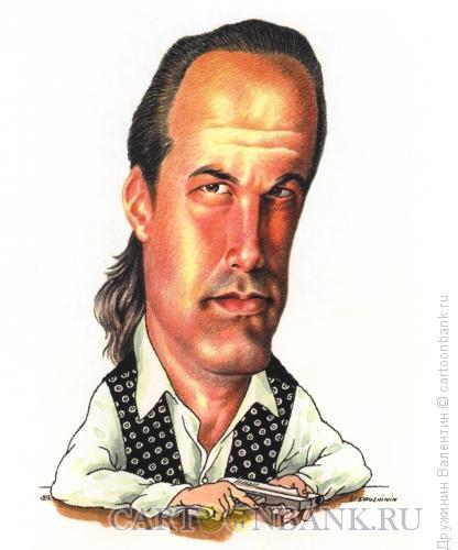 Карикатура: Стивен Сигал, Дружинин Валентин