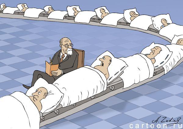 Карикатура: конвеер, Александр Зудин