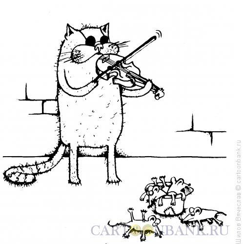 Карикатура: Подаяние снежками, Шилов Вячеслав