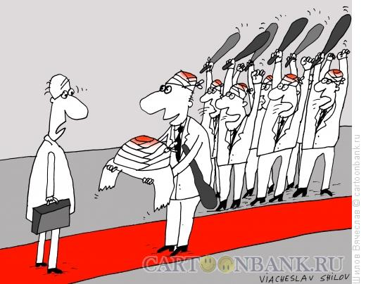 Карикатура: Хлеб всему голова, Шилов Вячеслав