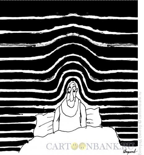 Карикатура: Утро тяжелое, Богорад Виктор
