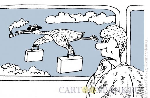 Карикатура: Кошмар!, Мельник Леонид