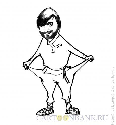 Карикатура: Патриот Железняк, Новосёлов Валерий