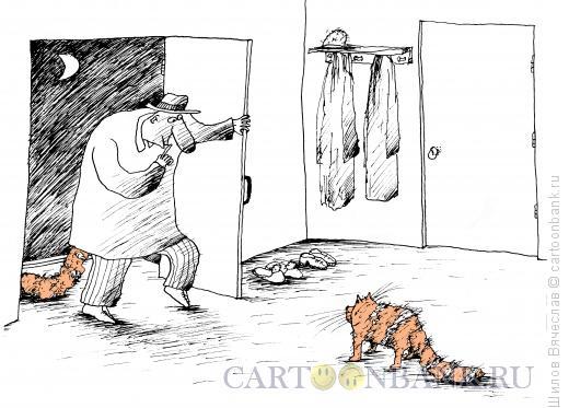 Карикатура: Хвостатые, Шилов Вячеслав