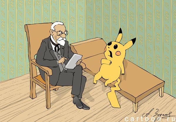 Карикатура: Мания преследования, Александр Зудин