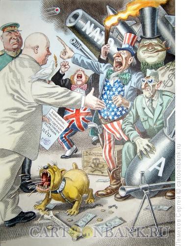 Карикатура: история СССР, приём в НАТО, Лемехов Сергей