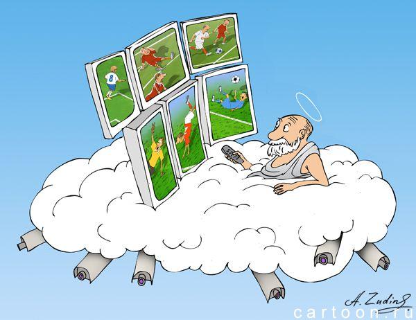 Карикатура: прямой эфир, Александр Зудин