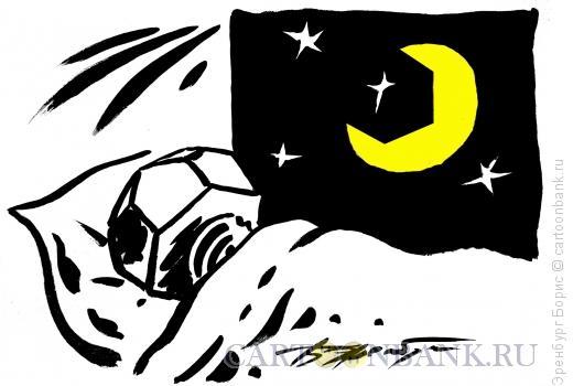 Карикатура: лунатик, Эренбург Борис