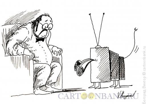 Карикатура: Тапочки, Богорад Виктор