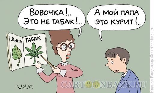 Карикатура: Гербарий, Иванов Владимир