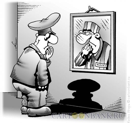 Карикатура: Оборотень в погонах, Кийко Игорь