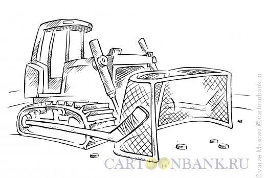 Карикатура: Трактор, Смагин Максим