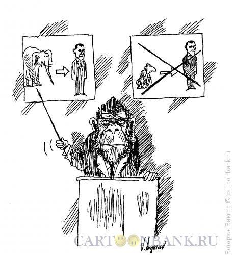 Карикатура: Лектор, Богорад Виктор