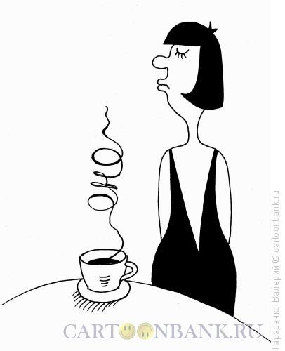 Карикатура: Левый кофе, Тарасенко Валерий