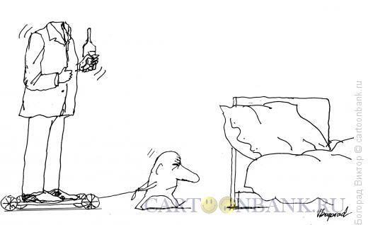 Карикатура: Автопилот, Богорад Виктор