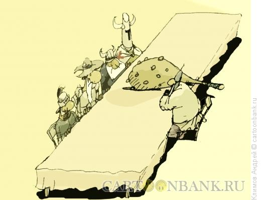 Карикатура: Не НАТО нам тут, Климов Андрей