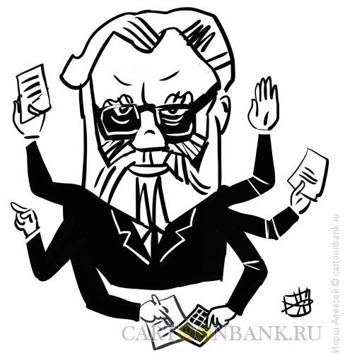 Карикатура: В. Е. Чуров, Иорш Алексей