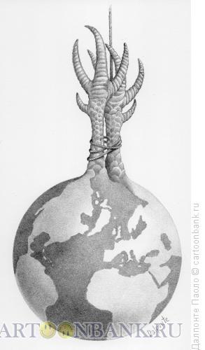 Карикатура: Мертвый мир, Далпонте Паоло