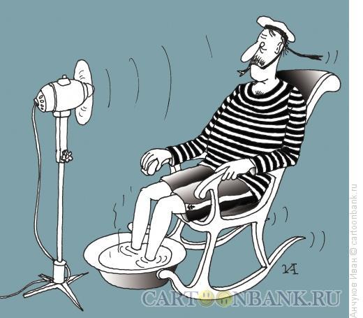 Карикатура: Матрос, Анчуков Иван