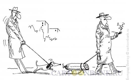 Карикатура: Домашний питомец, Богорад Виктор