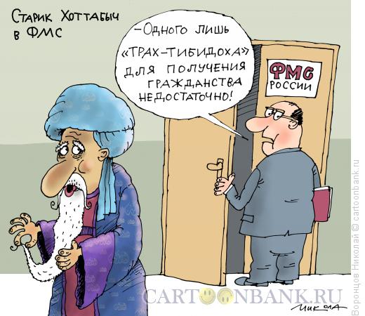 Карикатура: Гражданство, Воронцов Николай