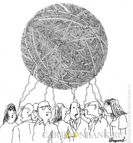 Карикатура: Сплетня, Богорад Виктор
