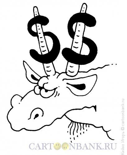 Карикатура: Знак зодиака - козерог, Кийко Игорь