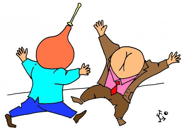 Карикатура: клизма для ума, Ганов Константин
