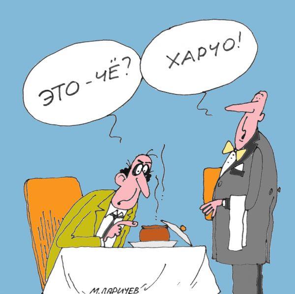 Карикатура: Че?, Михаил Ларичев
