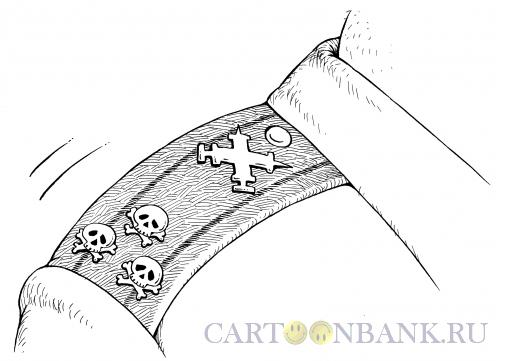 Карикатура: Наркополковник, Смагин Максим