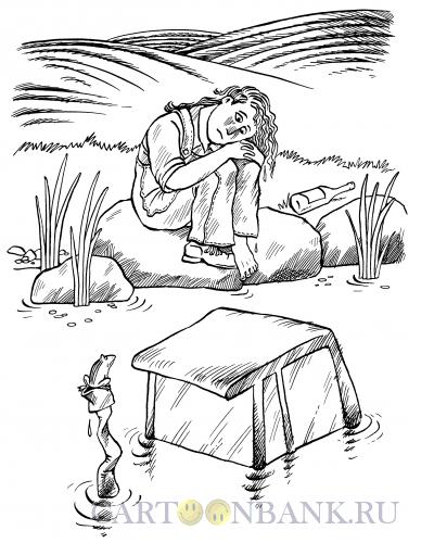 Карикатура: Трактористка Аленушка, Смагин Максим