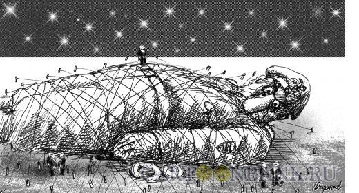 Карикатура: Проблема милиции, Богорад Виктор
