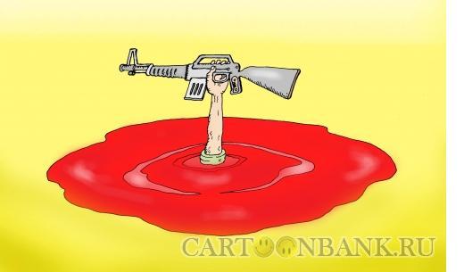Карикатура: Локальный конфликт, Тарасенко Валерий