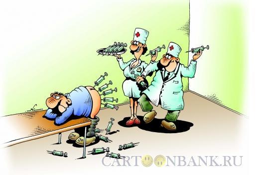 Карикатура: Дартс, Кийко Игорь