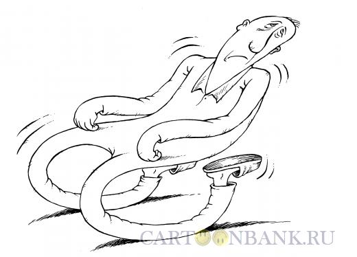 Карикатура: Ноги-качалки, Смагин Максим